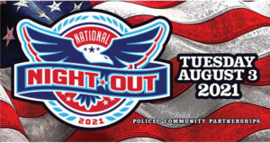 National Night Out Aug. 3rd 2021